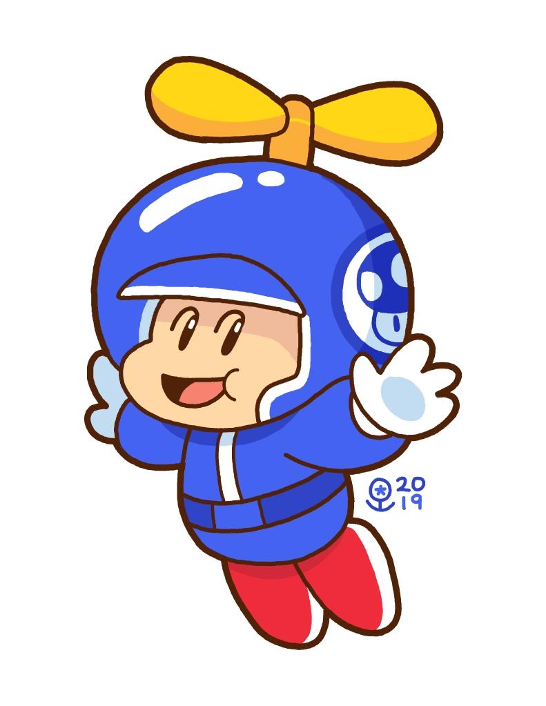 Propeller Toad
