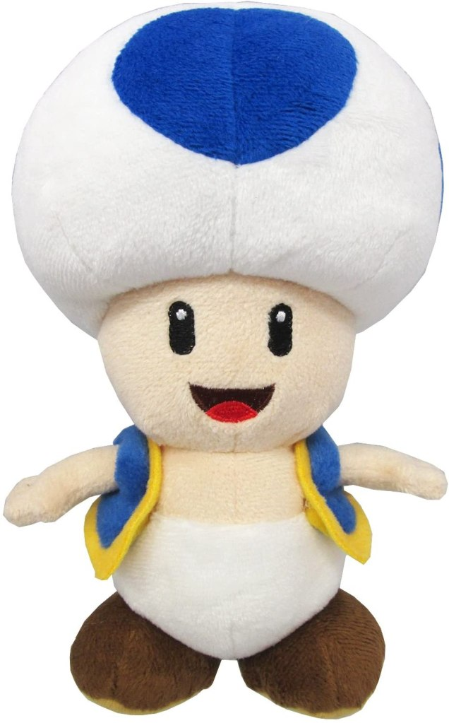 Blue Toad plushie